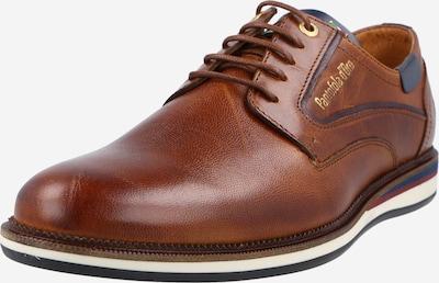 PANTOFOLA D'ORO Обувки с връзки 'ANDRANO' в нейви синьо / карамел / злато, Преглед на продукта