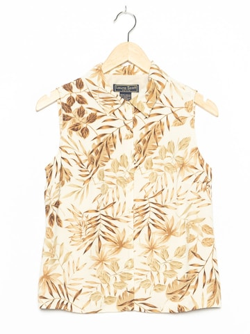 LAURA SCOTT Bluse in XL in Beige