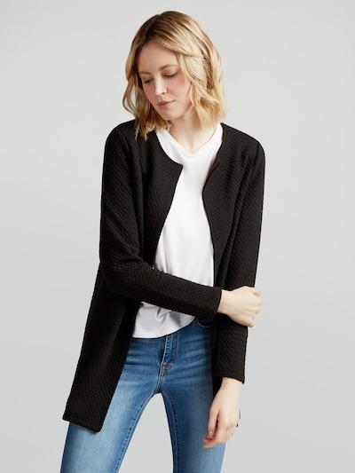 VILA Longblazer 'Vinaja' in schwarz, Modelansicht
