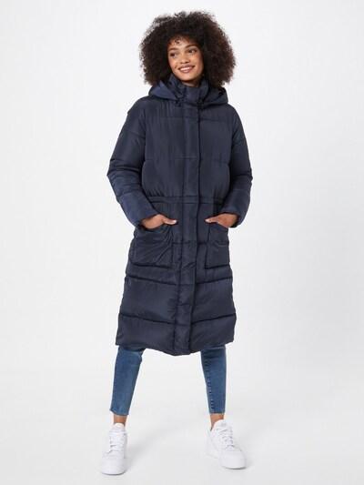 basic apparel Wintermantel 'Dagmar' in navy, Modelansicht