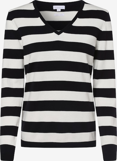 Brookshire Pullover in schwarz / weiß, Produktansicht