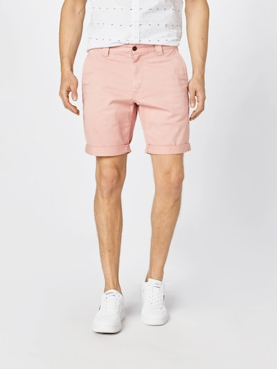 Tommy Jeans Bukser 'SCANTON' i pink: Frontvisning