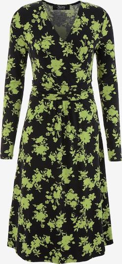 Aniston SELECTED Aniston SELECTED Jerseykleid in grün / schwarz, Produktansicht