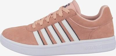 K-SWISS Sneaker 'Court Cheswick' in koralle / weiß, Produktansicht
