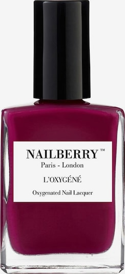 Nailberry Nagellack 'L'Oxygéné Oxygenated' in beere, Produktansicht