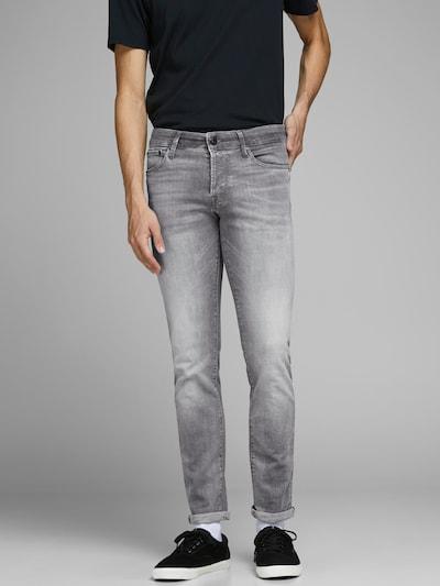 JACK & JONES Jeans 'JJIGLENN' in de kleur Grey denim, Modelweergave
