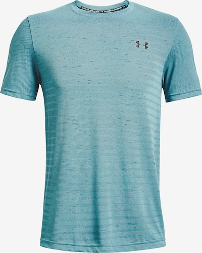 UNDER ARMOUR Functioneel shirt in de kleur Smoky blue / Lichtblauw: Vooraanzicht
