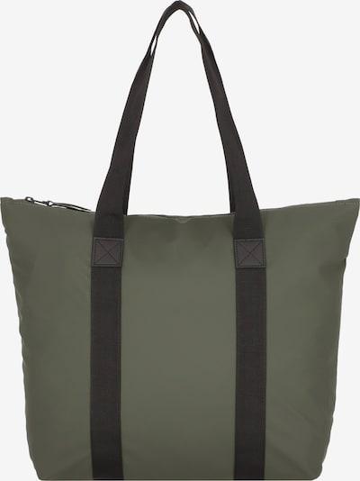 RAINS Shopper 'Rush' in oliv / schwarz, Produktansicht