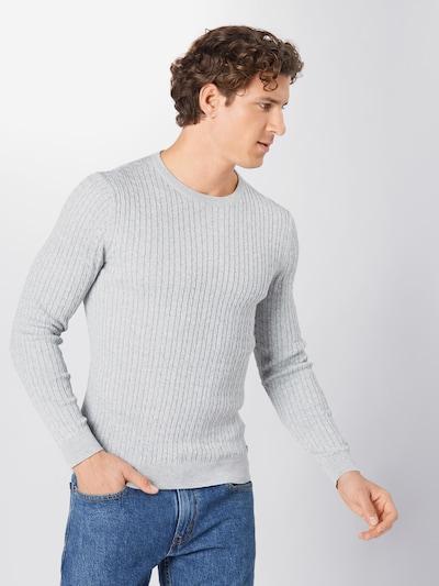 JACK & JONES Pullover in grau: Frontalansicht