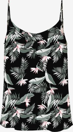 VERO MODA Top in de kleur Pastelgroen / Pink / Zwart / Wit, Productweergave