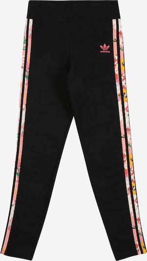 ADIDAS ORIGINALS Leggings in grün / rosa / schwarz / weiß, Produktansicht