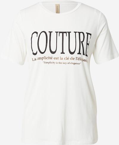 Soyaconcept Shirt 'MARICA' in braun / schwarz / wollweiß, Produktansicht