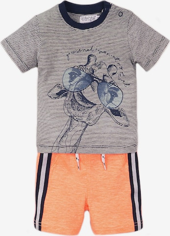 Dirkje Shirt + Sweatshorts in Mischfarben