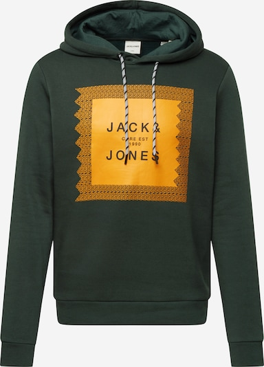 sárga / sötétzöld JACK & JONES Tréning póló 'BOOSTER', Termék nézet