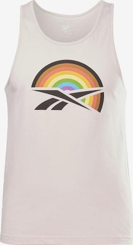 T-Shirt fonctionnel Reebok Sport en rose