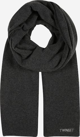 Twinset Schal in Grau