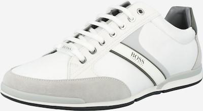 BOSS Casual Tenisky 'Saturn' - šedá / bílá, Produkt