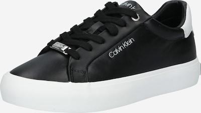Calvin Klein Baskets basses en noir / blanc, Vue avec produit