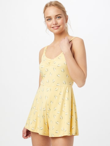 HOLLISTER Jumpsuit in Yellow