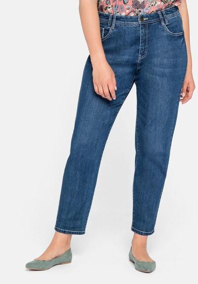 SHEEGO Jeans in blue denim, Modelansicht