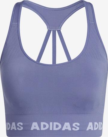 Soutien-gorge de sport ADIDAS PERFORMANCE en violet