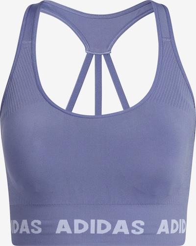 ADIDAS PERFORMANCE Biustonosz sportowy w kolorze liliowy / białym, Podgląd produktu