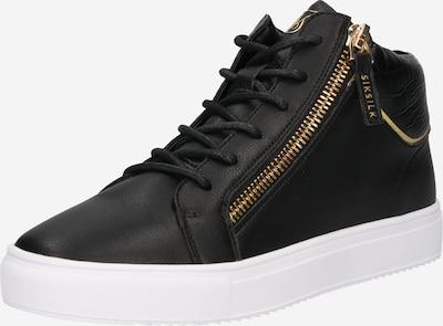 SikSilk High-Top Sneakers in Gold / Black, Item view