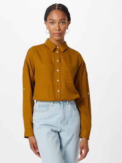 Someday Blouse 'Zericela' in Chamois, View model