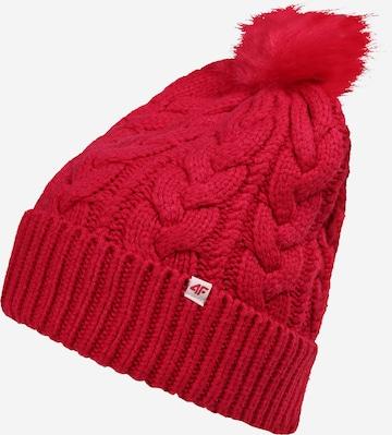 4F Športová čiapka - ružová