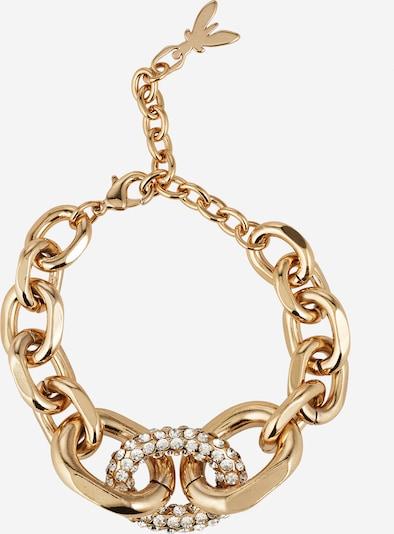 PATRIZIA PEPE Bracelet en or / transparent, Vue avec produit