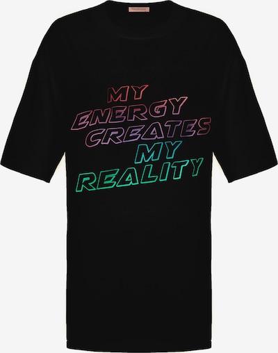 Grimelange Longshirt 'Pleasure' in schwarz, Produktansicht