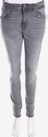 Pull&Bear Skinny-Jeans in 30-31 in Grau