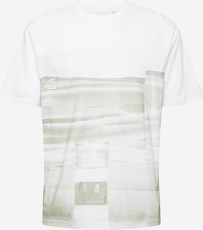 Only & Sons T-Krekls 'ANTON', krāsa - gaiši pelēks / balts, Preces skats