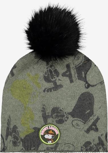 CODELLO Mütze 'Peantus' in grau / oliv / schwarz, Produktansicht