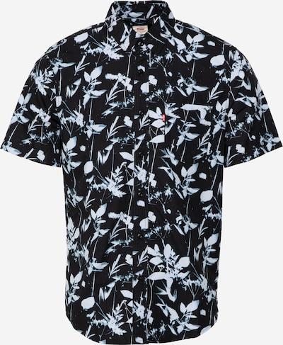 LEVI'S Hemd 'Sunset' in rauchblau / opal / schwarz, Produktansicht