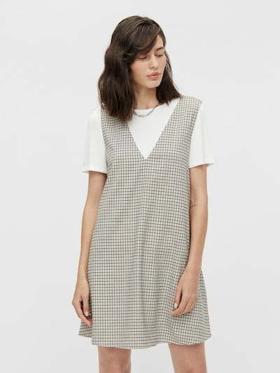 OBJECT Dress in Navy / Light grey / Khaki / White, View model