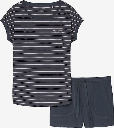 Marc O'Polo Bodywear Pyjama in blau, Produktansicht