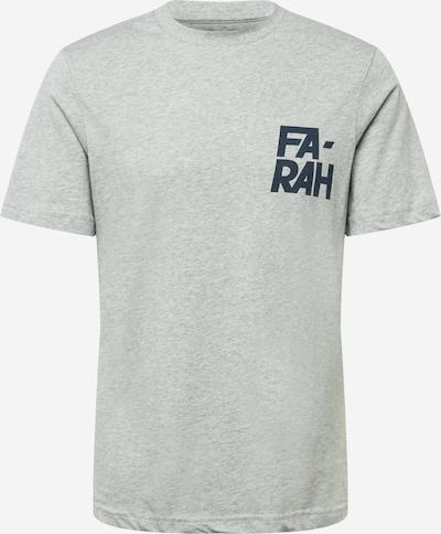 FARAH T-Shirt in dunkelblau / graumeliert, Produktansicht