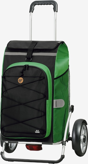 Andersen Shopper Einkaufstrolley 'Royal Shopper Plus Fado 2.0' in dunkelgrau / grün, Produktansicht