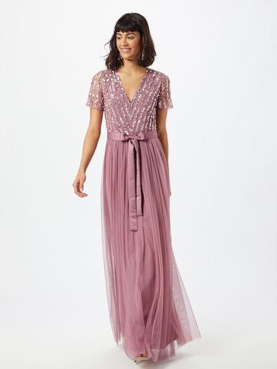 Maya Deluxe Společenské šaty - pink / stříbrná, Model/ka