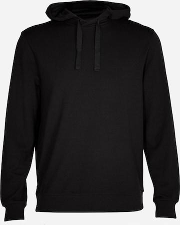 ICEBREAKER Αθλητική μπλούζα φούτερ 'Shifter' σε μαύρο