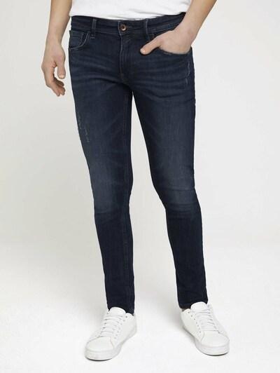 TOM TAILOR DENIM Jeans 'Culver' in de kleur Donkerblauw, Modelweergave