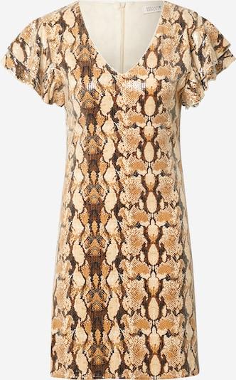 Molly BRACKEN Kleid in beige / braun / cognac, Produktansicht