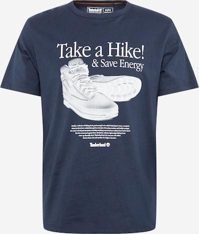 Tricou TIMBERLAND pe albastru noapte / alb, Vizualizare produs