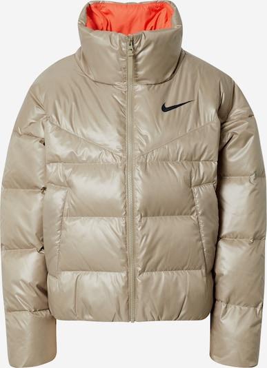 Nike Sportswear Overgangsjakke i beige, Produktvisning