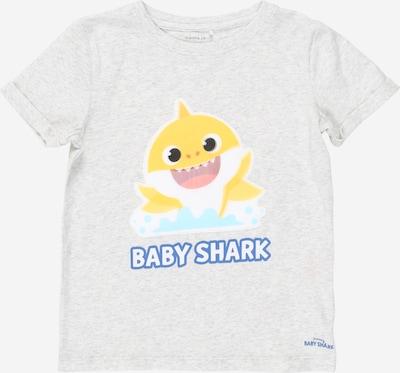 NAME IT T-Shirt 'BABY SHARK' en gris clair / mélange de couleurs, Vue avec produit