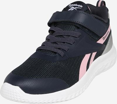 REEBOK Sportske cipele 'RUSH RUNNER' u noćno plava / prljavo roza / srebro, Pregled proizvoda
