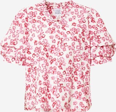 Line of Oslo Bluse 'Pie' in pink / weiß, Produktansicht