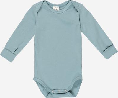 Müsli by GREEN COTTON Бебешки гащеризони/боди в опушено синьо, Преглед на продукта