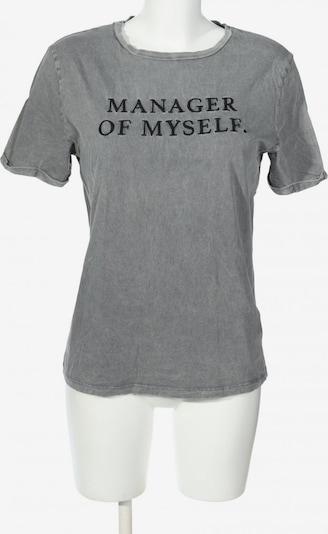 Dilvin T-Shirt in S in hellgrau / schwarz, Produktansicht